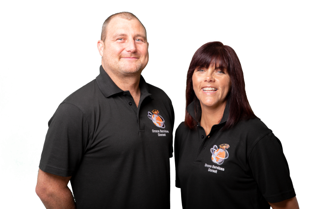 Lawrence and Claire - Meet the team at Drone Services Dorset